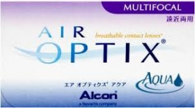 AIR OPTIX AQUA MULTIFOCAL 6 PACK