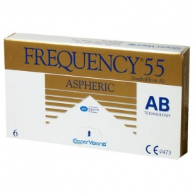 FREQUENCY 55 ASPHERIC FW 6-PACK