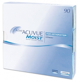 ACUVUE 1 DAY MOIST FOR ASTIGMATISM 90 PACK