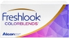 FRESHLOOK COLORBLENDS VIBRANT COLORS 6 PACK